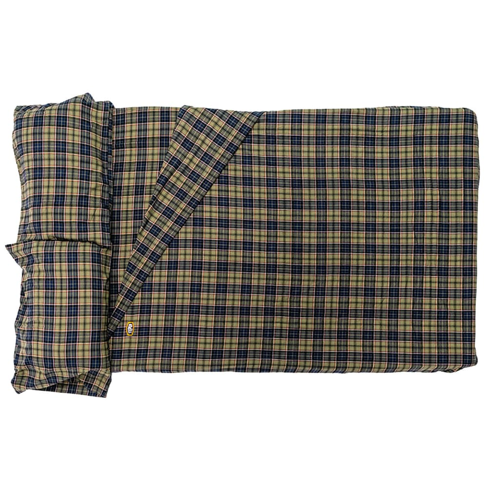 TEPUI Autana/Kukenam 3 Plaid Flannel Fitted Sheets - PLAID BLUE