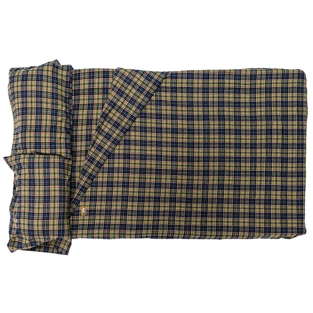 TEPUI Autana/Kukenam 3 Plaid Flannel Fitted Sheets - PLAID BLUE