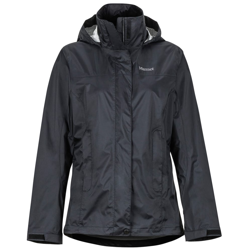 MARMOT Women's Precip Eco Jacket - 001 BLACK