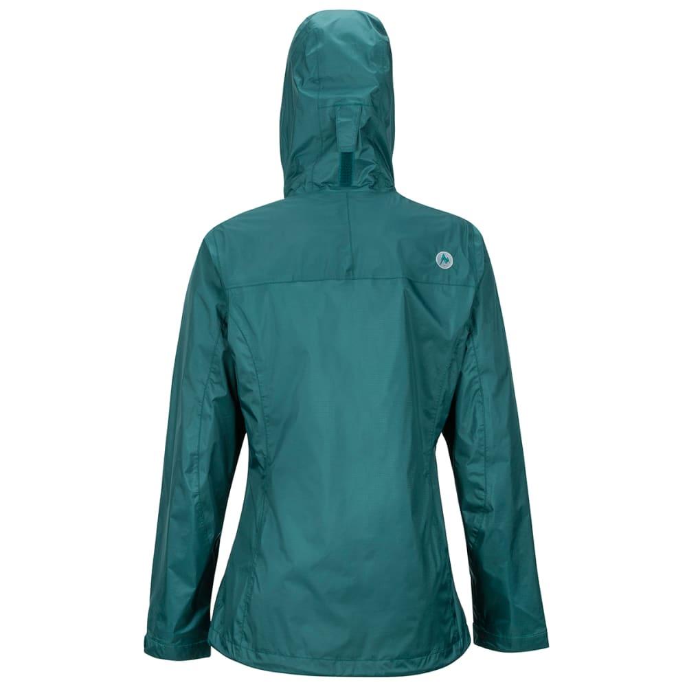 MARMOT Women's Precip Eco Jacket - DEEP TEAL 2209