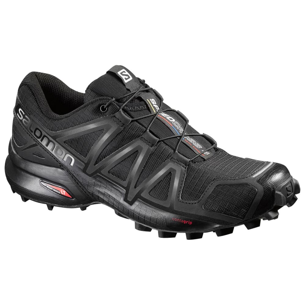 SALOMON Women's Speedcross 4 Trail Running Shoe - BLACK