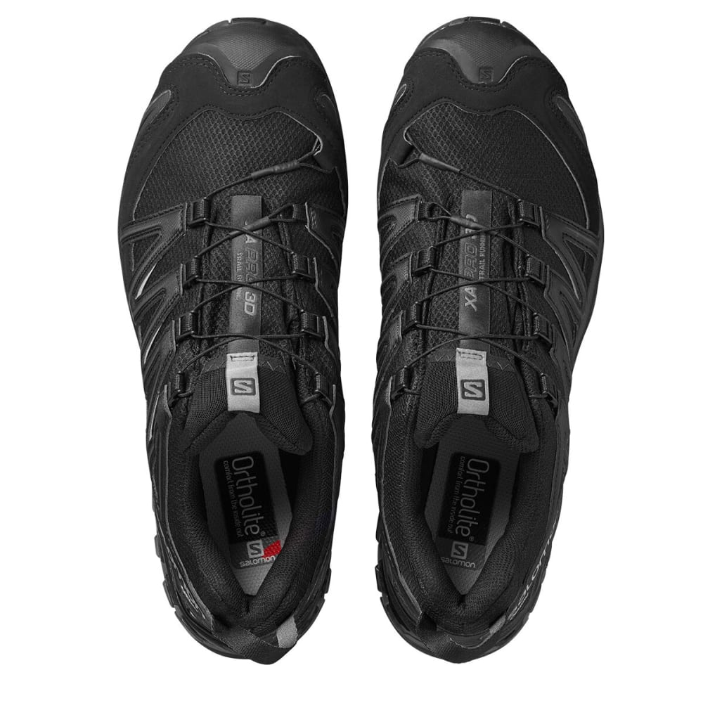 SALOMON Men's XA Pro 3D GTX All Weather Hiking Shoes - BLACK
