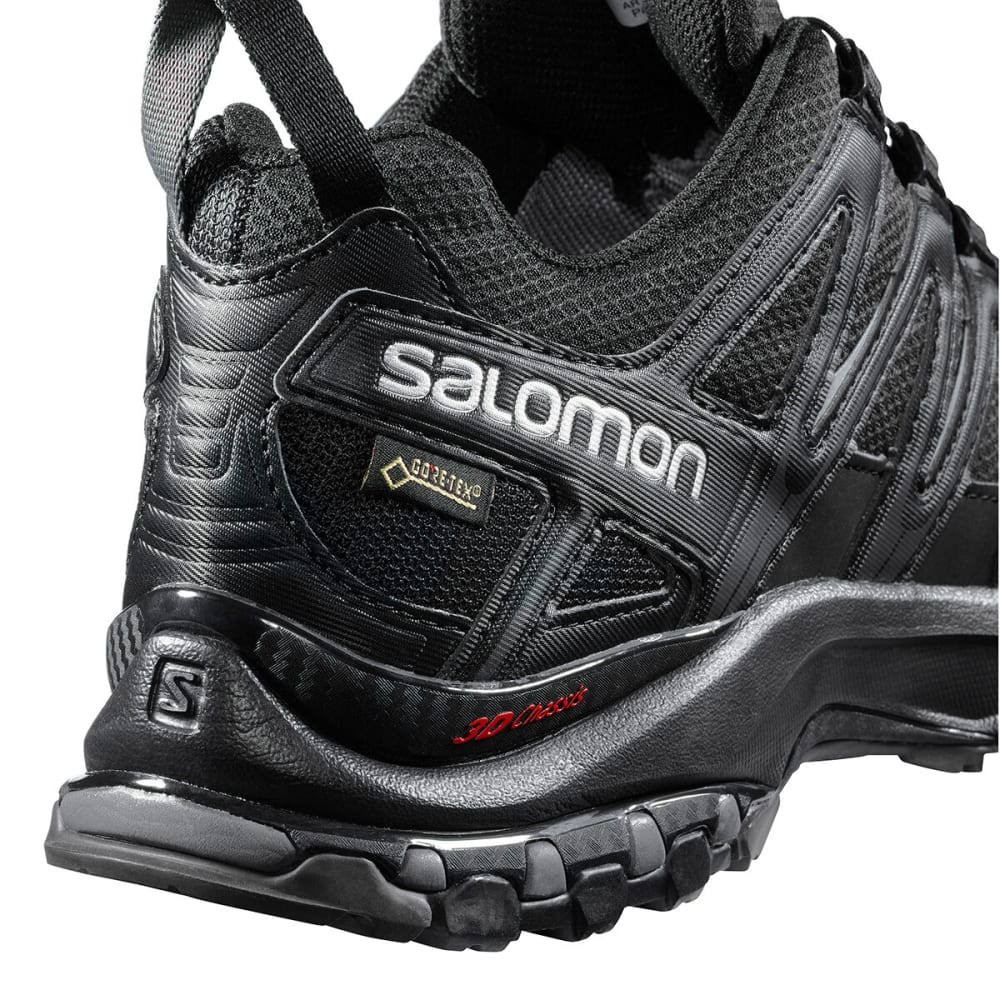 SALOMON Men's XA Pro 3D GTX All Weather Hiking Shoes - BLACK