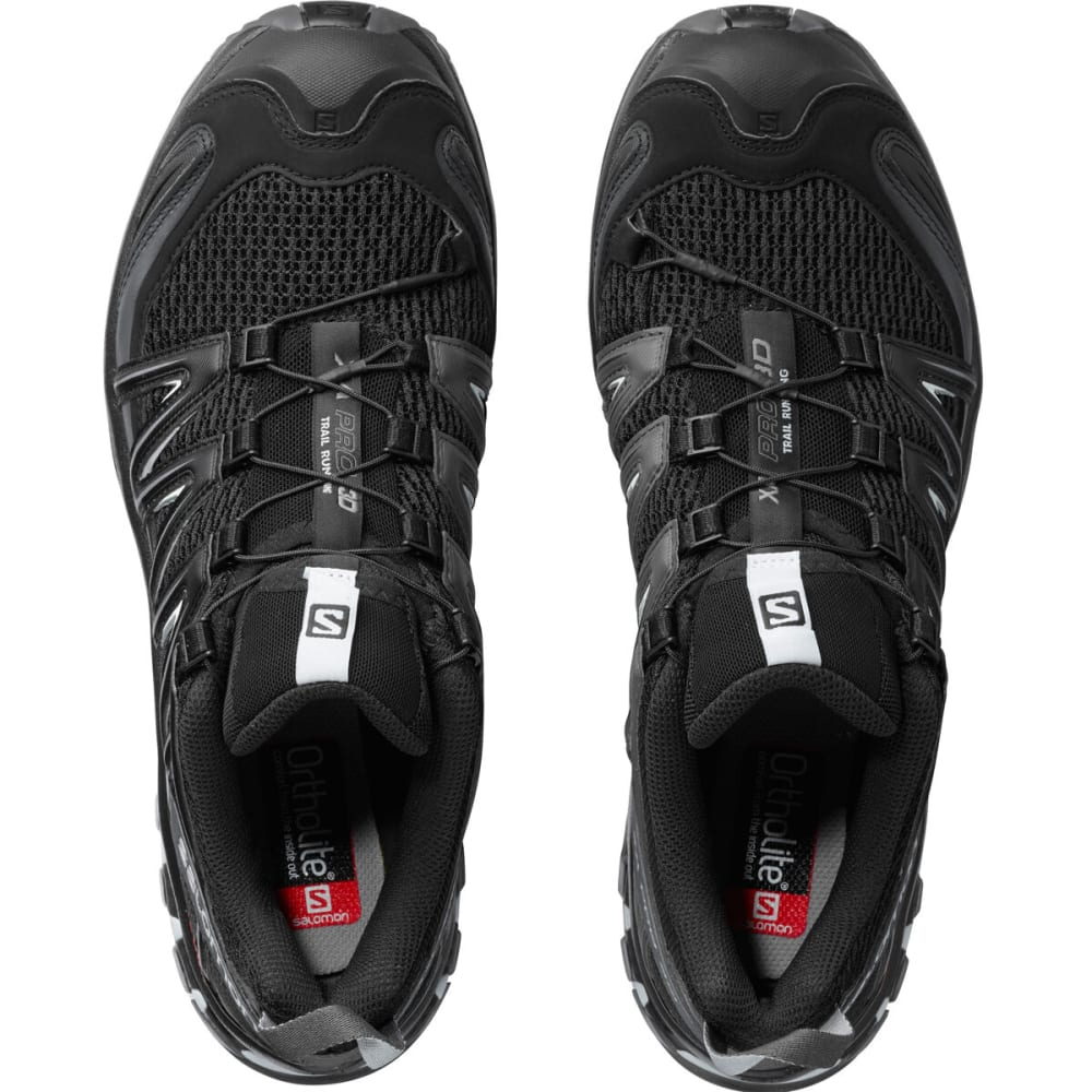 SALOMON Men's XA Pro 3D Trail Running Shoes - BLACK