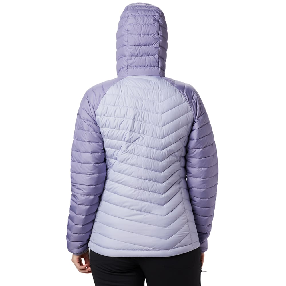 COLUMBIA Women's Powder Lite Hooded Jacket - TWILIGHT IRIS 580
