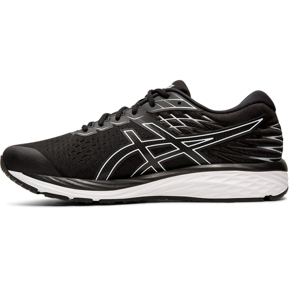 ASICS Men's Gel-Cumulus 21 Running Shoe - WHITE/BLACK-001
