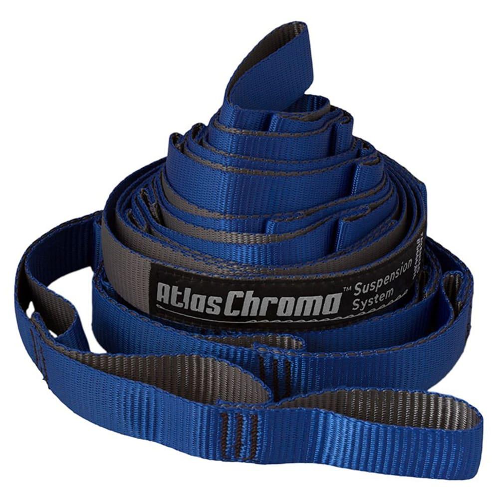 ENO Atlas Chroma Hammock Suspension System - ROYAL CHARCOAL