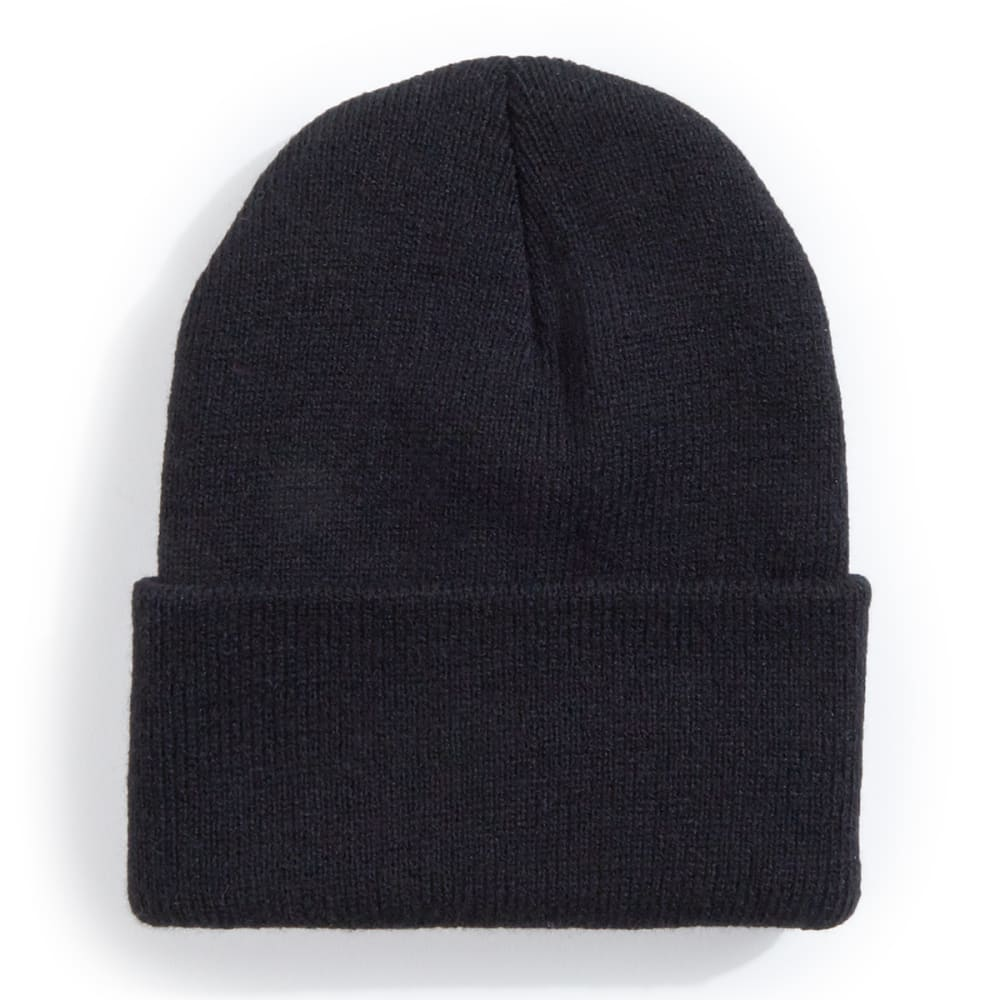 ARTEX Boys' Superstretch Cuff Knit Hat - BLACK