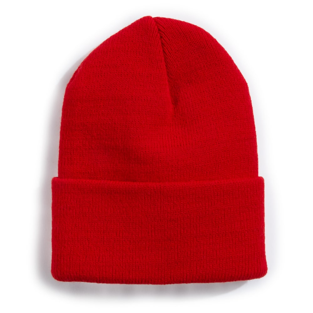 ARTEX Boys' Superstretch Cuff Knit Hat - RED