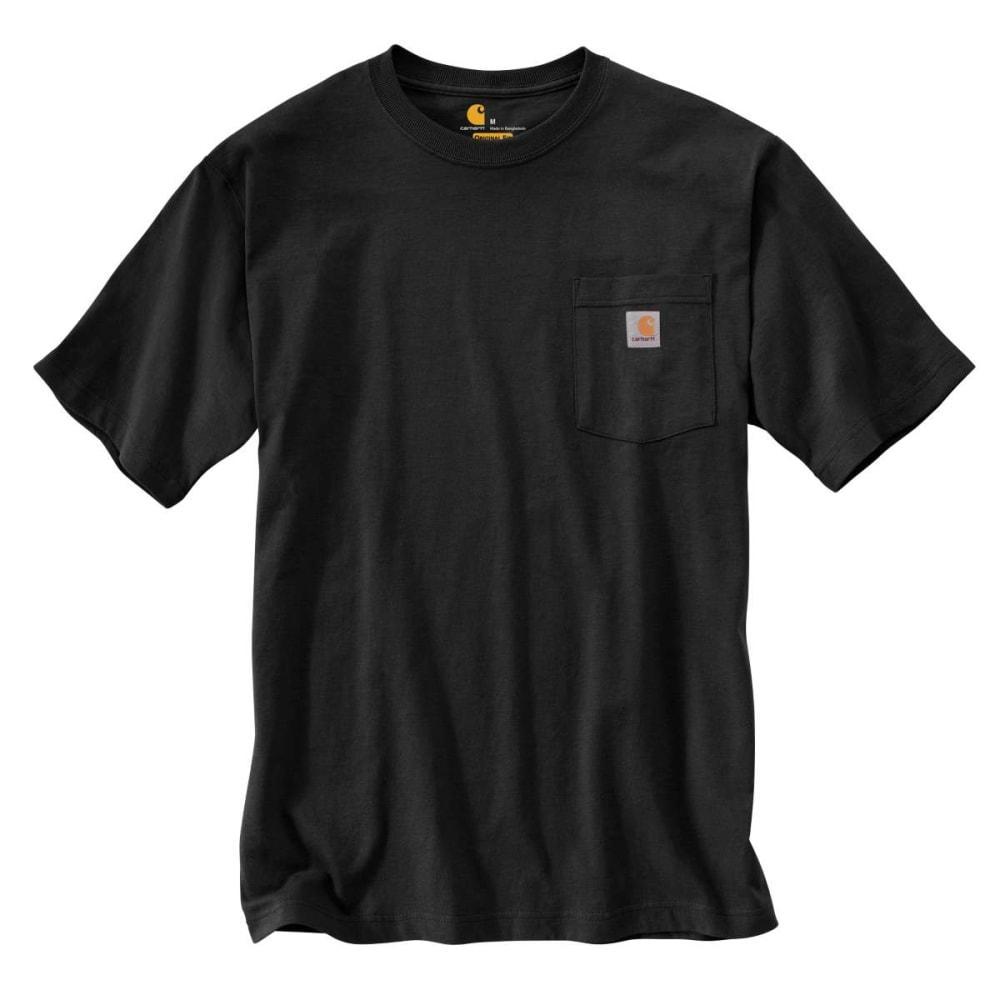 CARHARTT Men's K87 Short-Sleeve Shirt, Extended Sizes 5XL