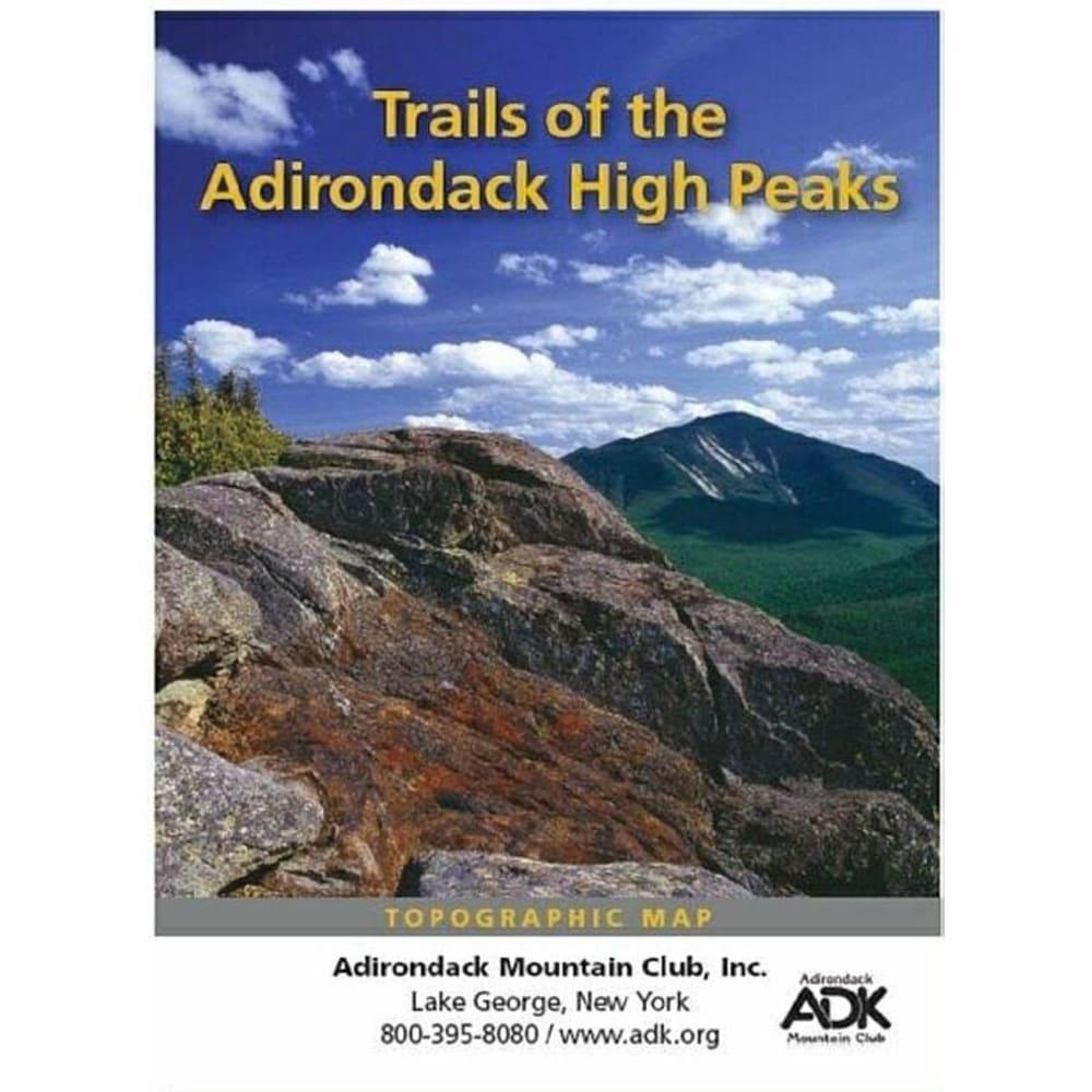 ADIRONDACK MOUNTAIN CLUB High Peaks Map - NONE