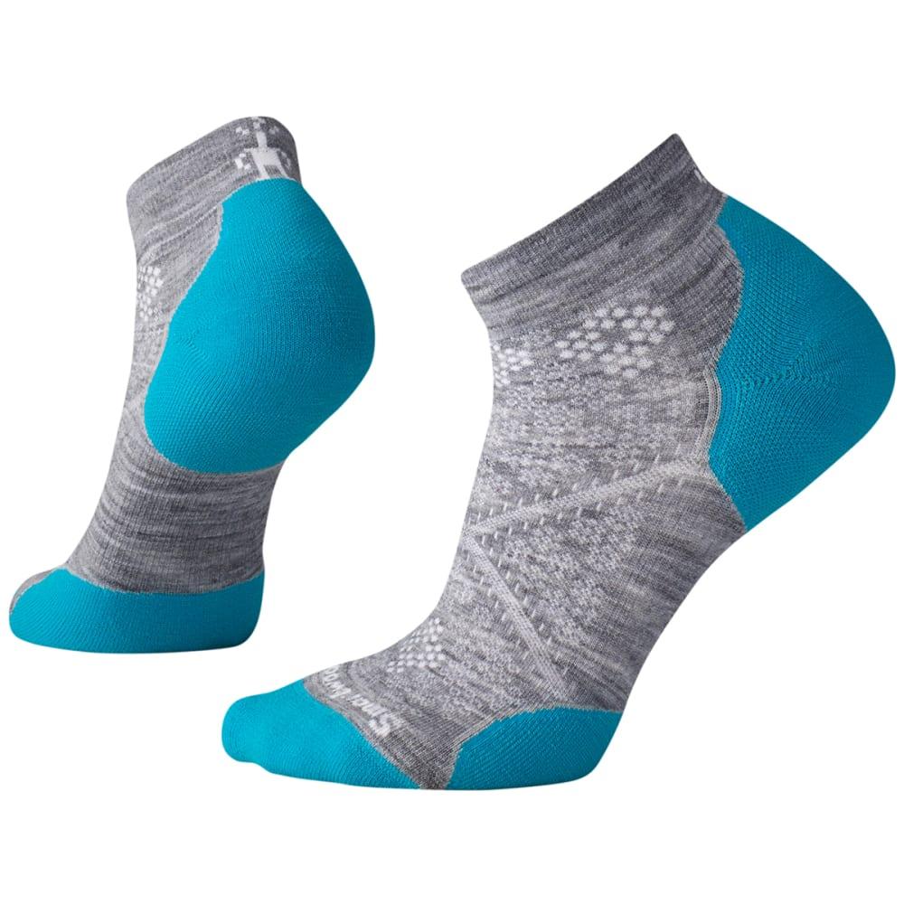 SMARTWOOL Women's  PhD Run Light Elite Low Cut Socks - 811-BLUE