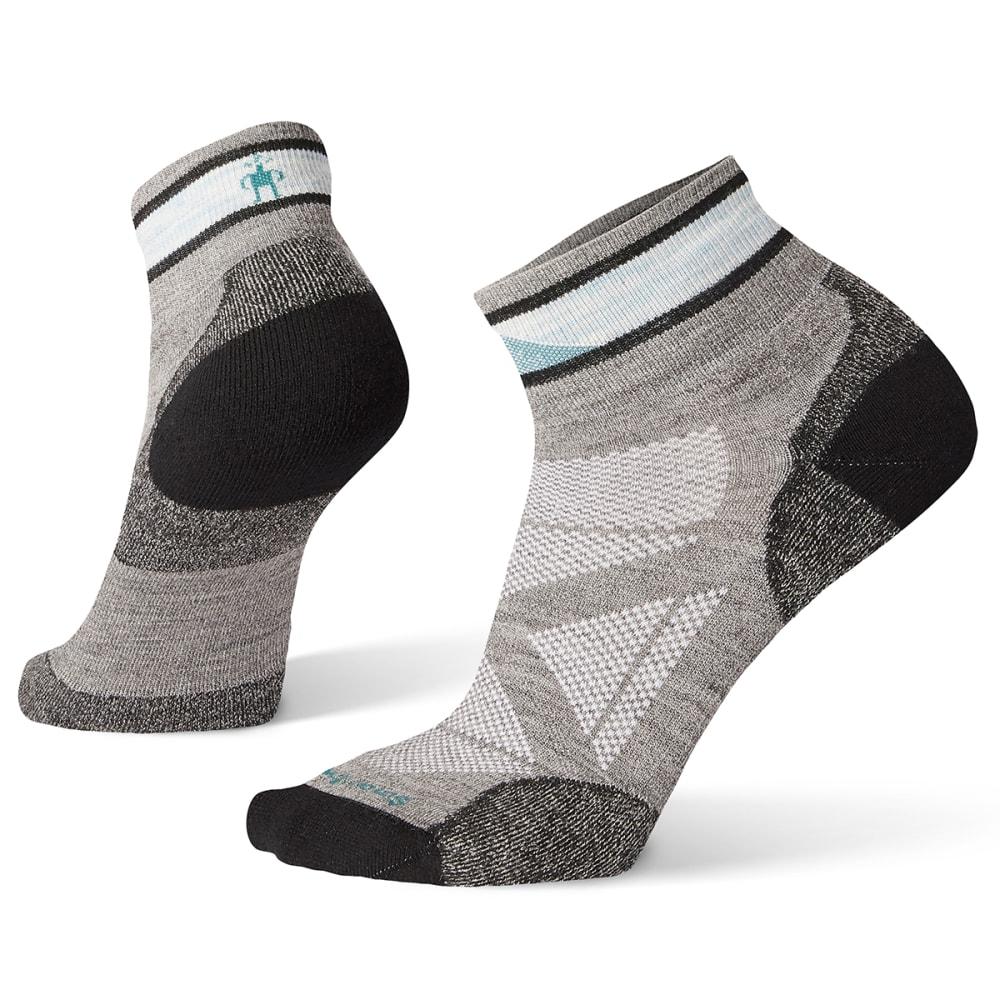 SMARTWOOL Women's PhD Pro Approach Mini Socks - 039-GREY
