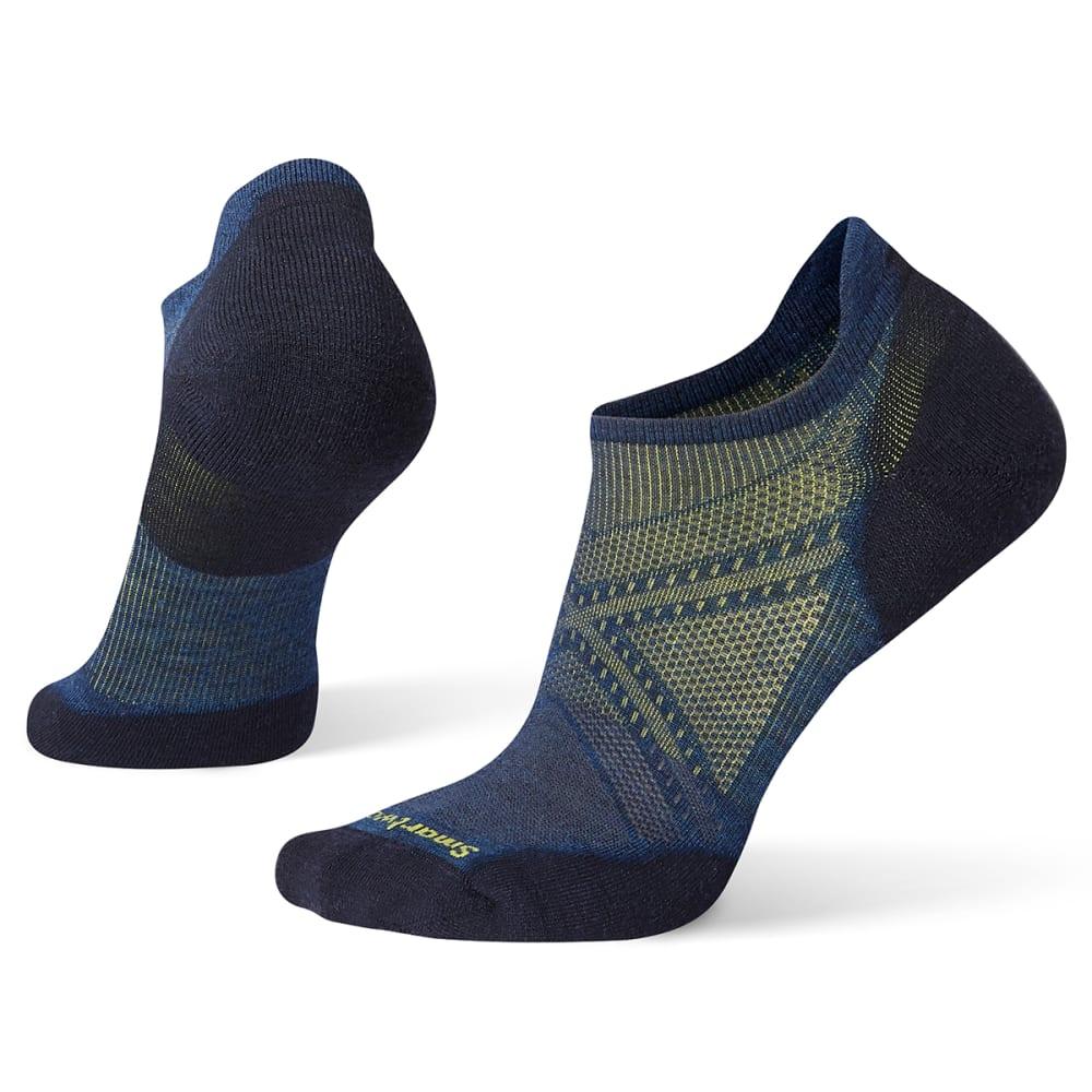 SMARTWOOL Men's PhD Run Elite Micro Socks - B25-ALPINE BLUE