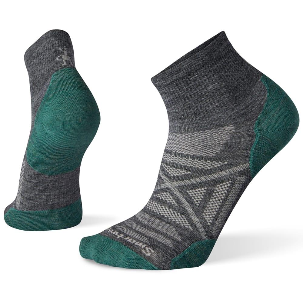 SMARTWOOL Men's PhD Outdoor Ultra Light Mini Hiking Socks - 052- MED GREY