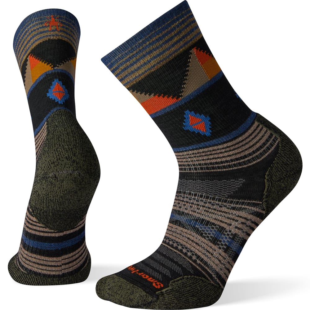 SMARTWOOL Men's PhD Outdoor Crew Socks M