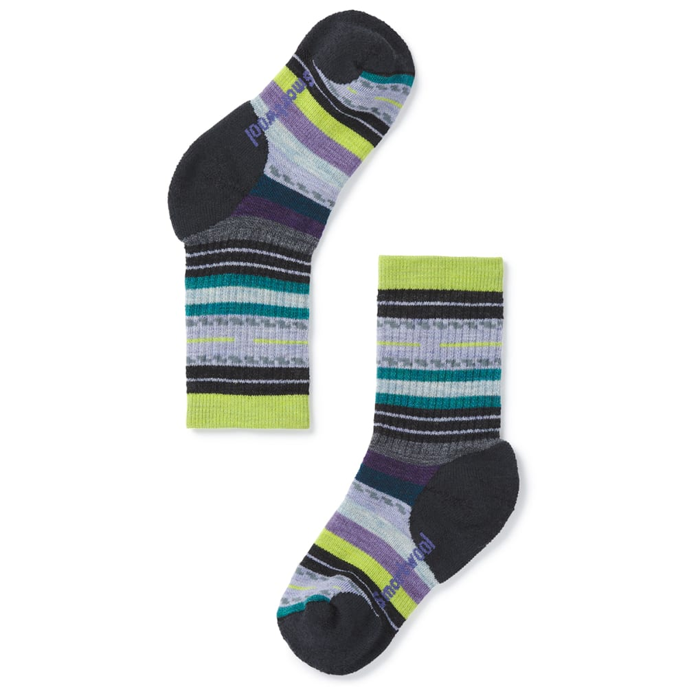 SMARTWOOL Kids' Hike Medium Margarita Crew Socks S