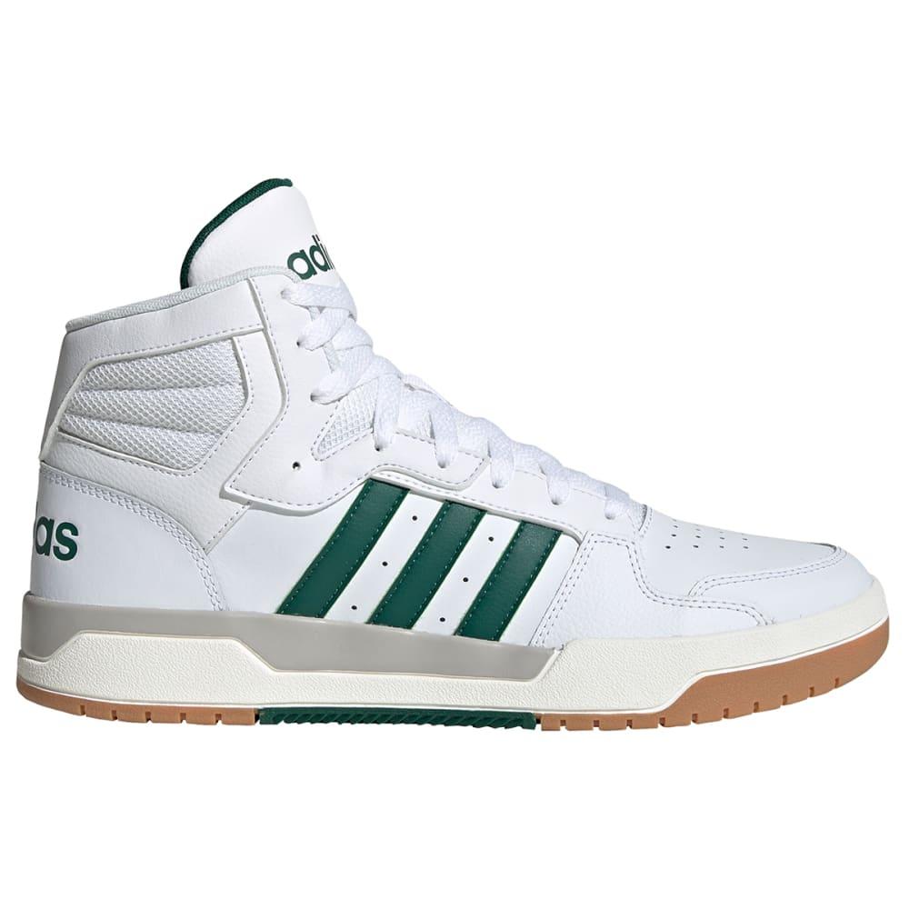 ADIDAS Men's Entrap Mid-Top Sneakers - WHITE/GREEN-EG4308