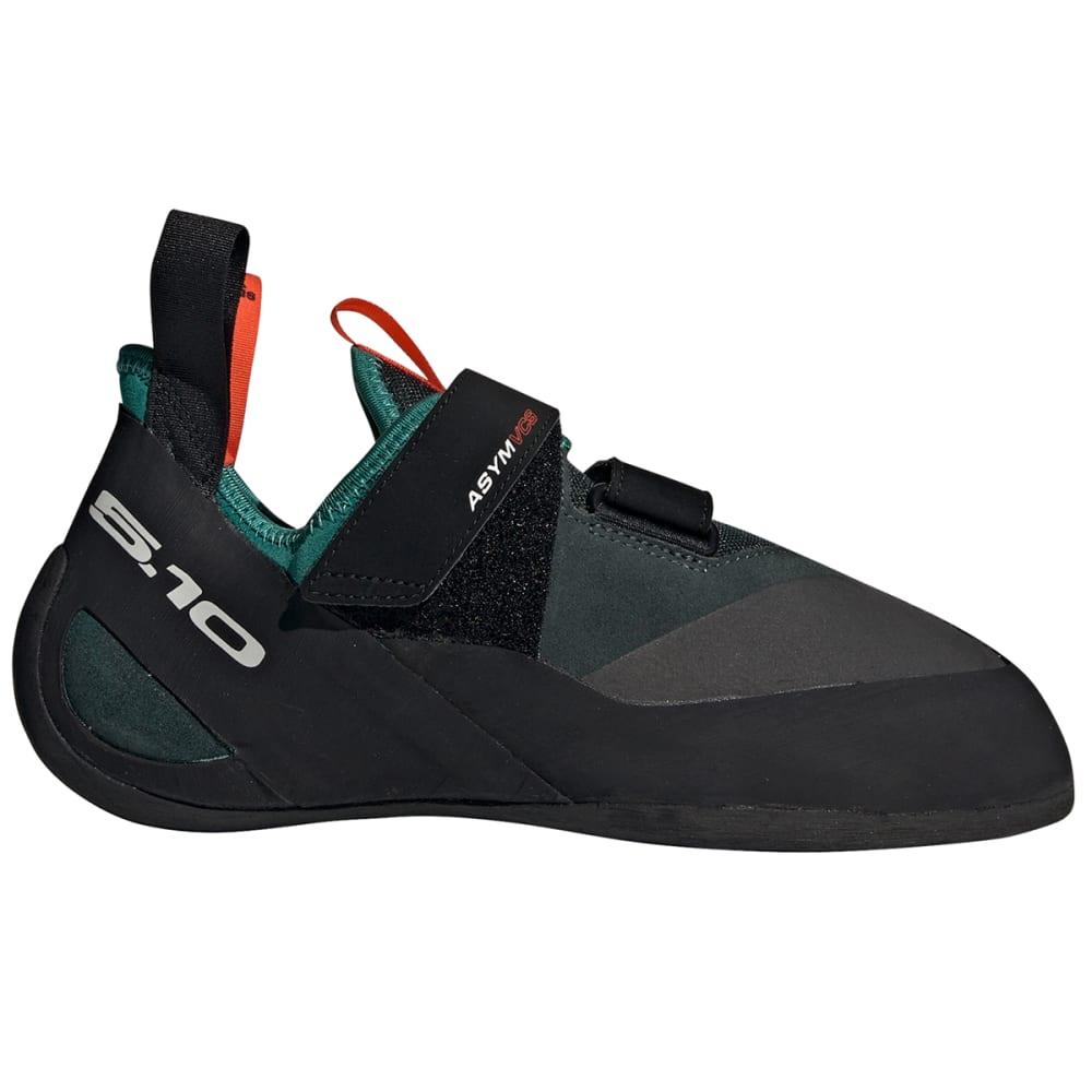 ADIDAS Men's Five Ten ASYM Climbing Shoe - GREEN/BLACK/ORANGE