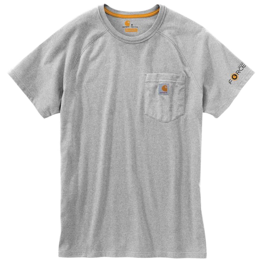 CARHARTT Men's Force Delmont Short-Sleeve Tee, Extended Size 2XLT