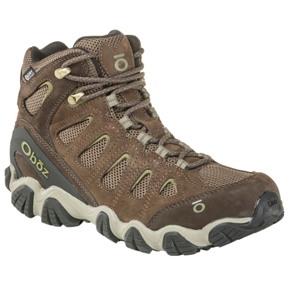 OBOZ Men's Sawtooth Mid B-Dry Waterproof Hiking Boots 8