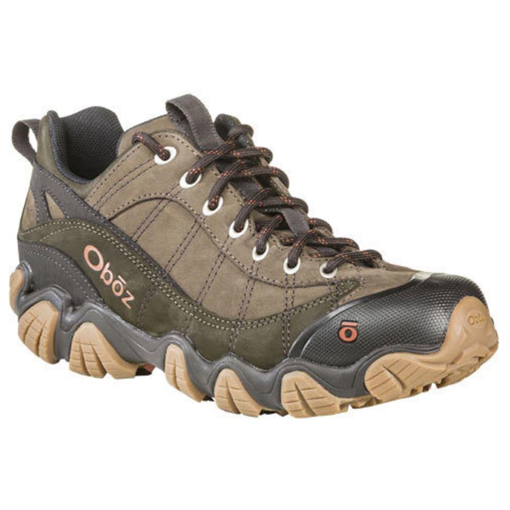 OBOZ Men's Firebrand 2 Leather Hiking Shoe - STONE