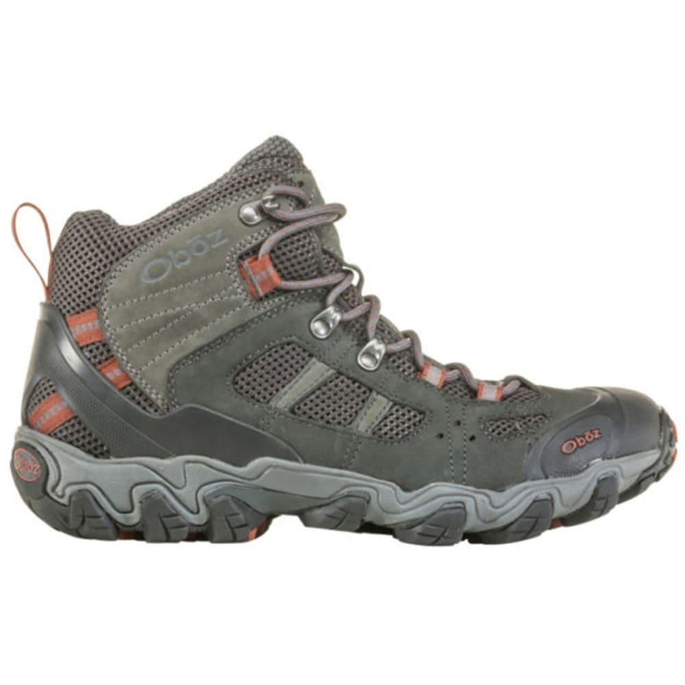 OBOZ Men's Bridger Vent Mid Hiking Shoe - DARK SHAD BRANDY BRW