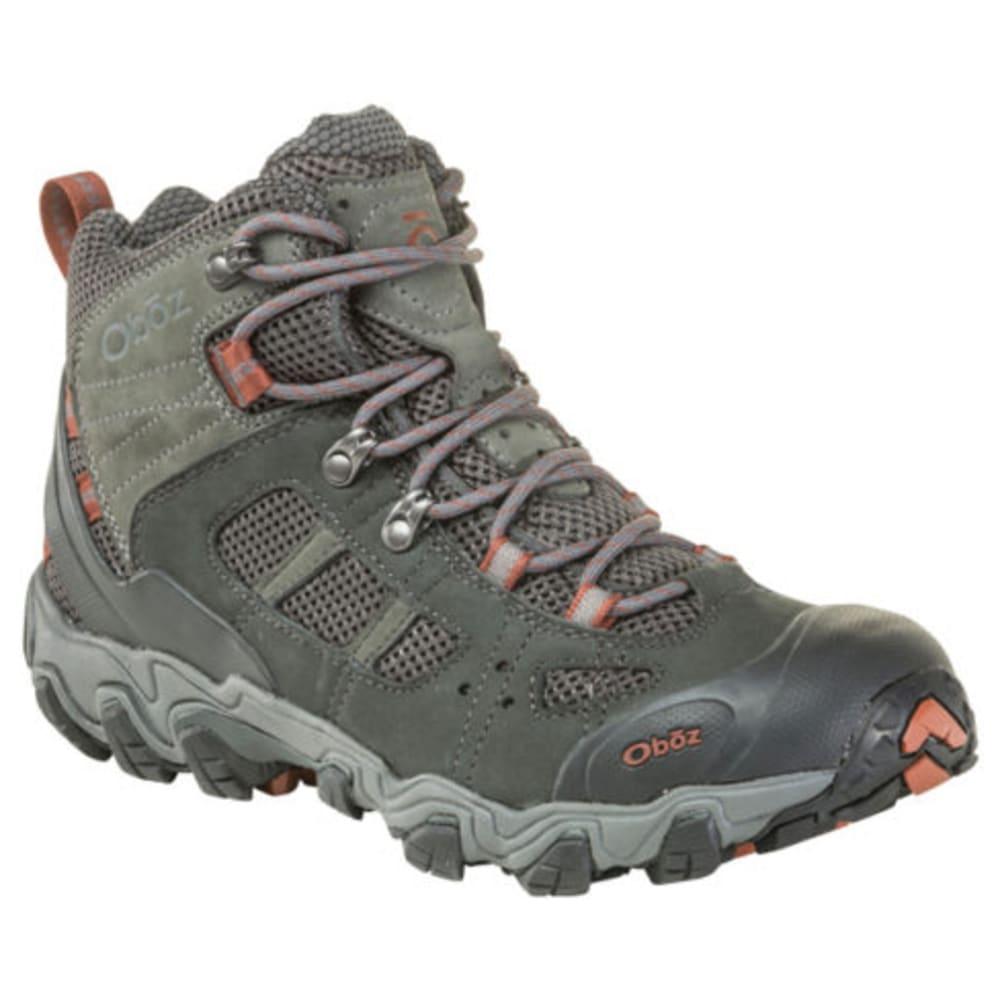 OBOZ Men's Bridger Vent Mid Hiking Shoe 9.5