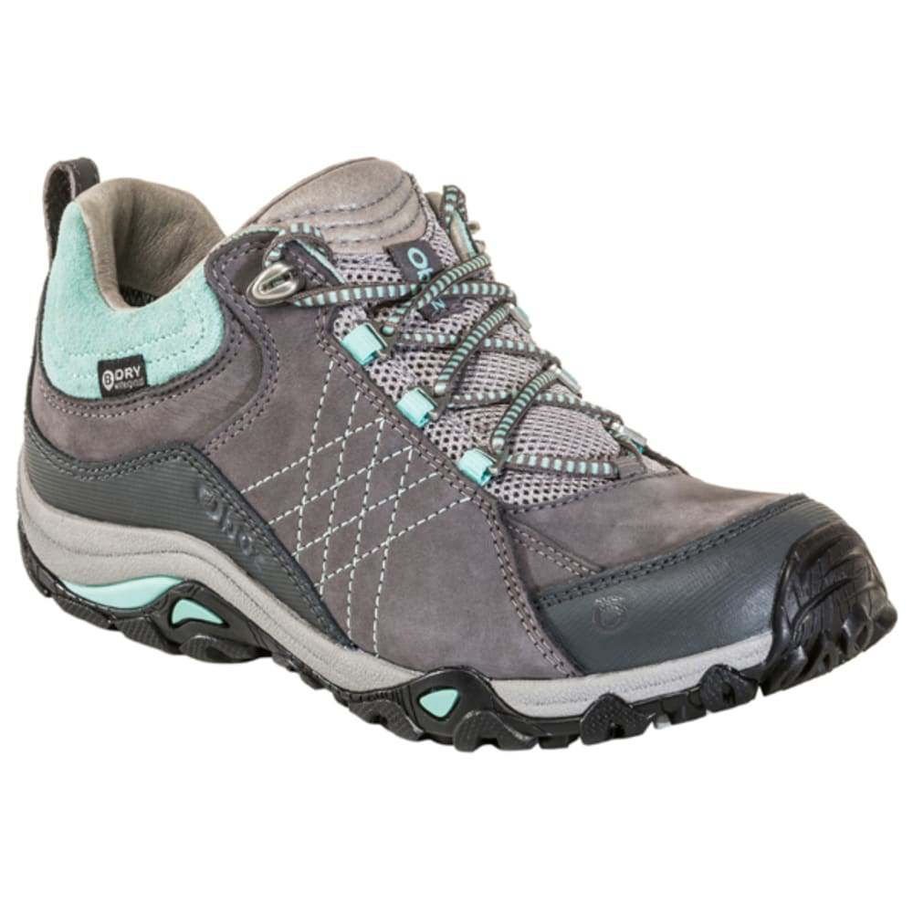 OBOZ Women's Sapphire Low BDry WP Hiking Shoes, Wide 6.5