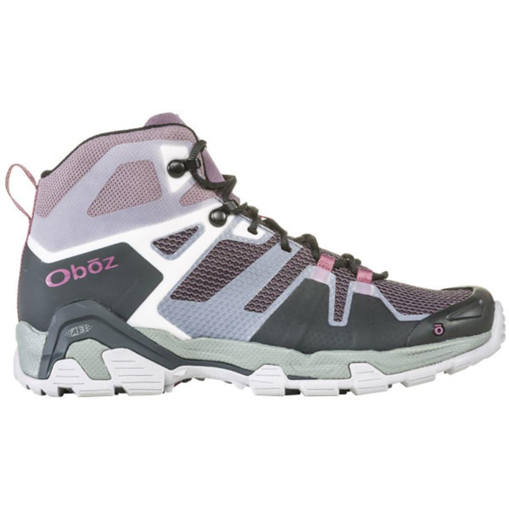OBOZ Women's Arete Mid Hiking Boot - BLUSH