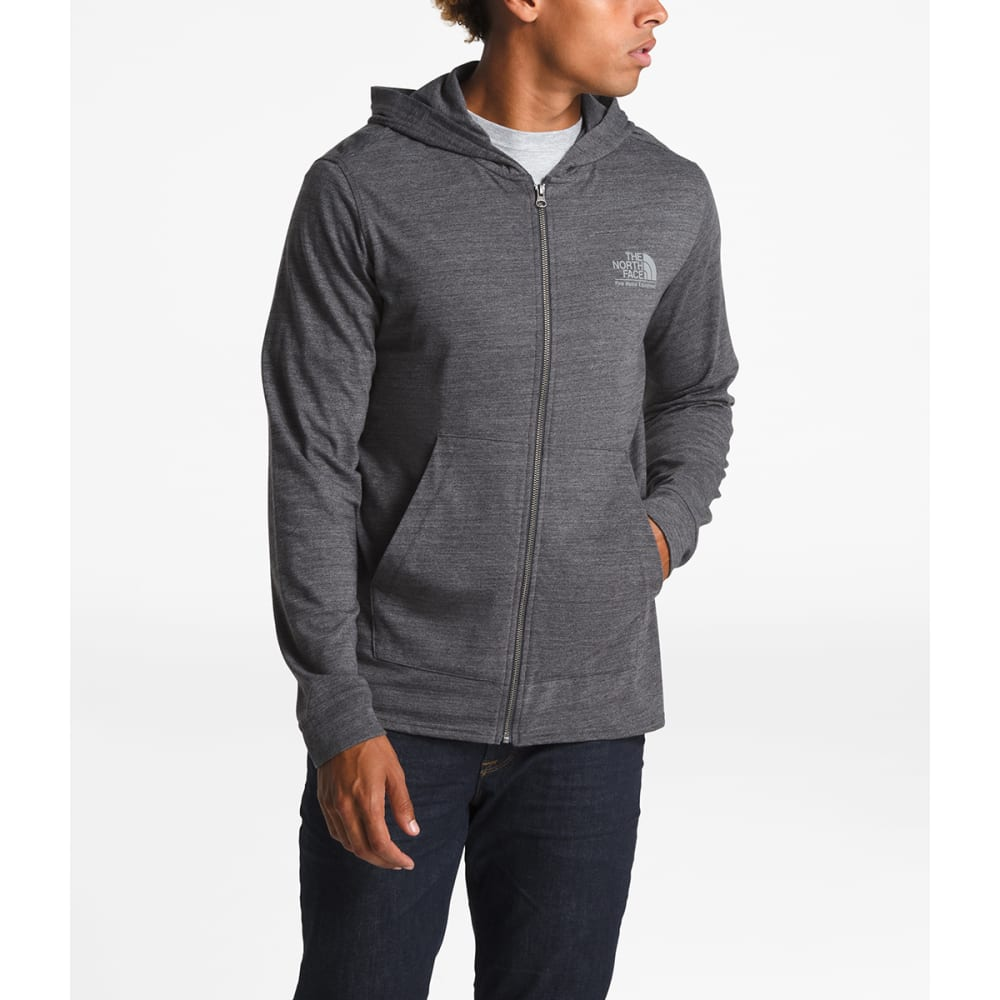 THE NORTH FACE Men's Gradient Sunset Full-Zip Hoodie - DYZ TNF DK GREY HEAT