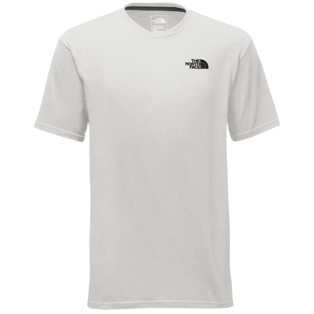 THE NORTH FACE Men's Red Box Short-Sleeve Tee - 3MU TNF WHT/TRR GRNC