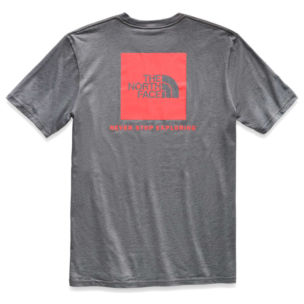 THE NORTH FACE Men's Red Box Short-Sleeve Tee - AKT FIERY RED