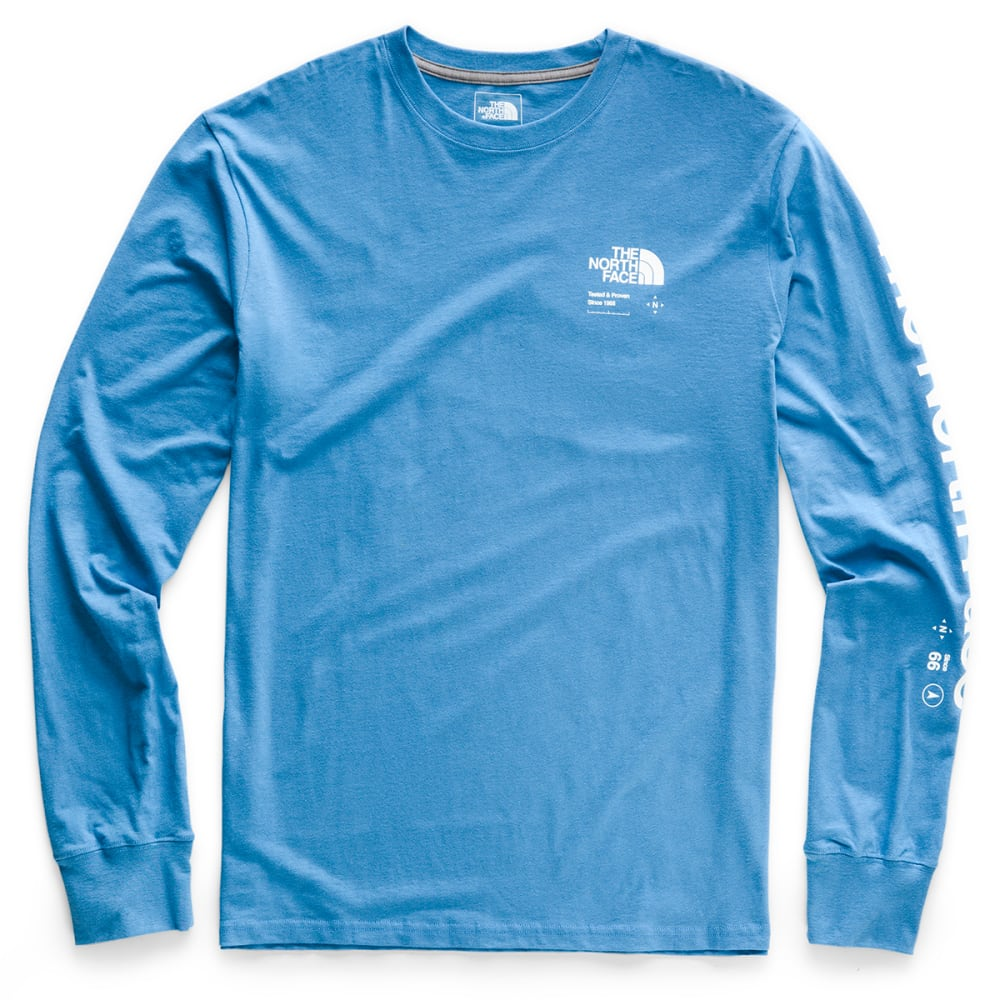 THE NORTH FACE Men's Half Dome Explore Long-Sleeve Tee - BH0 HERON BLUE