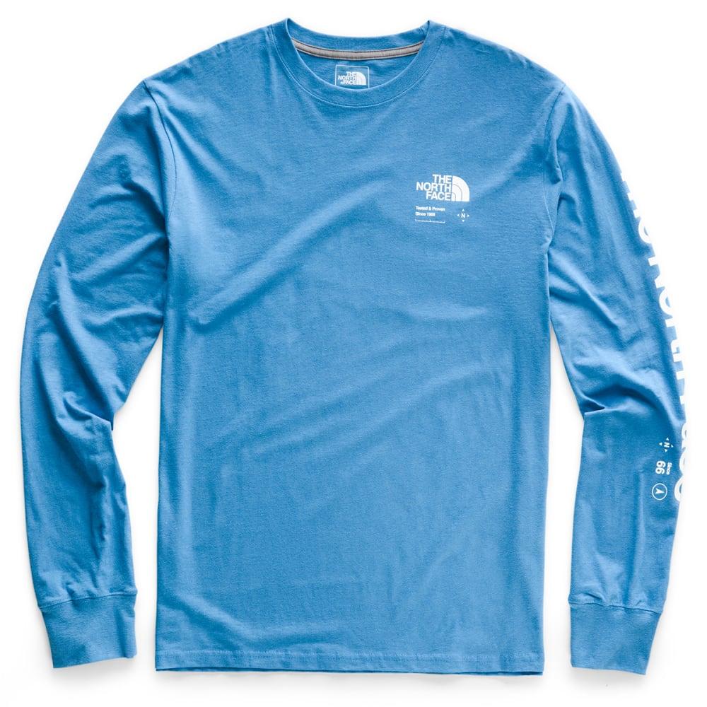 THE NORTH FACE Men's Half Dome Explore Long-Sleeve Tee - BH0 HERON BLUE