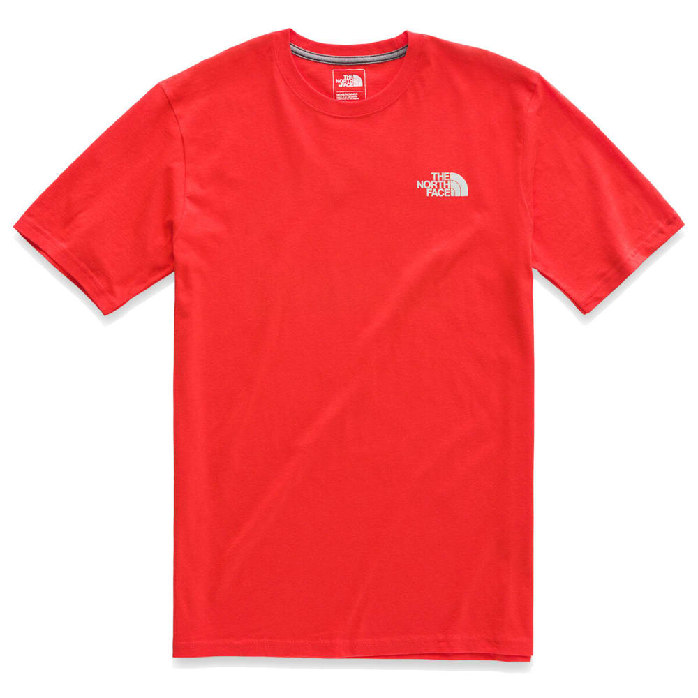 THE NORTH FACE Men's Short-Sleeve Retro Sunsets Tee - 15Q FIERY RED