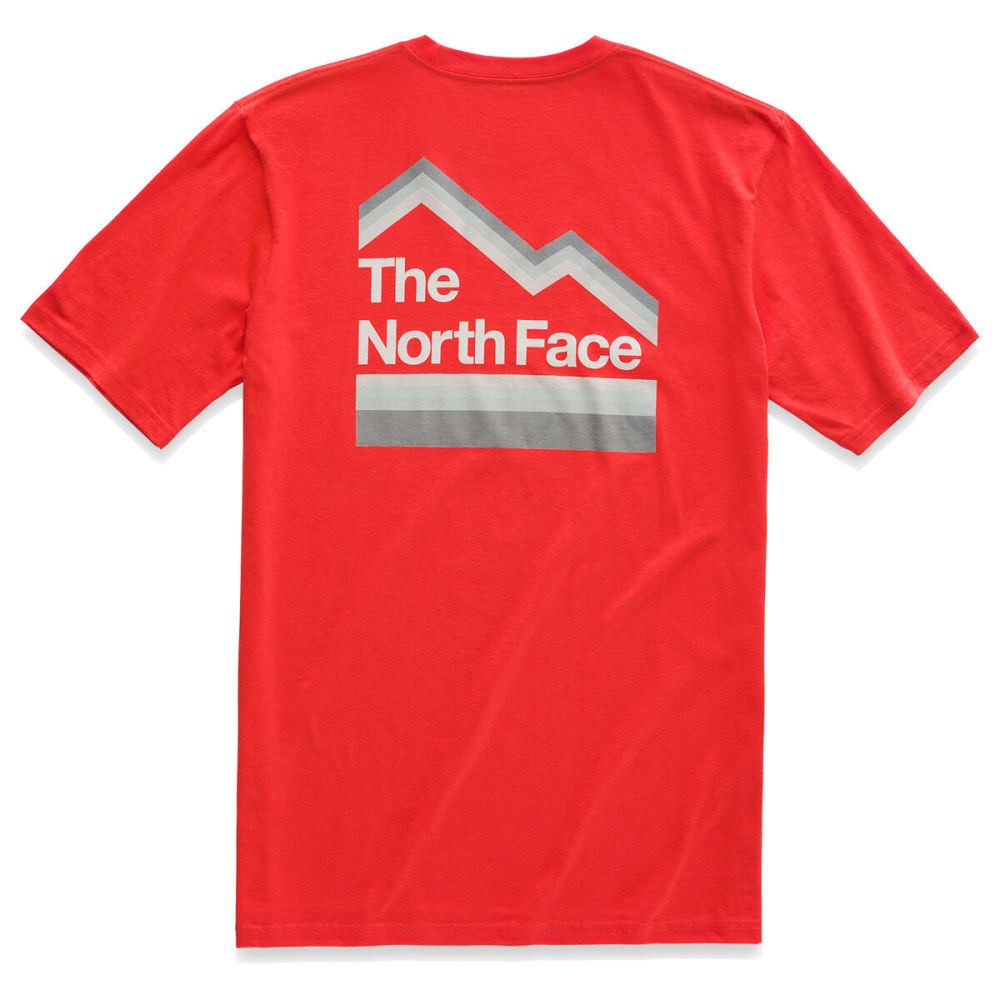 4ebb4bf7d THE NORTH FACE Men's Short-Sleeve Retro Sunsets Tee