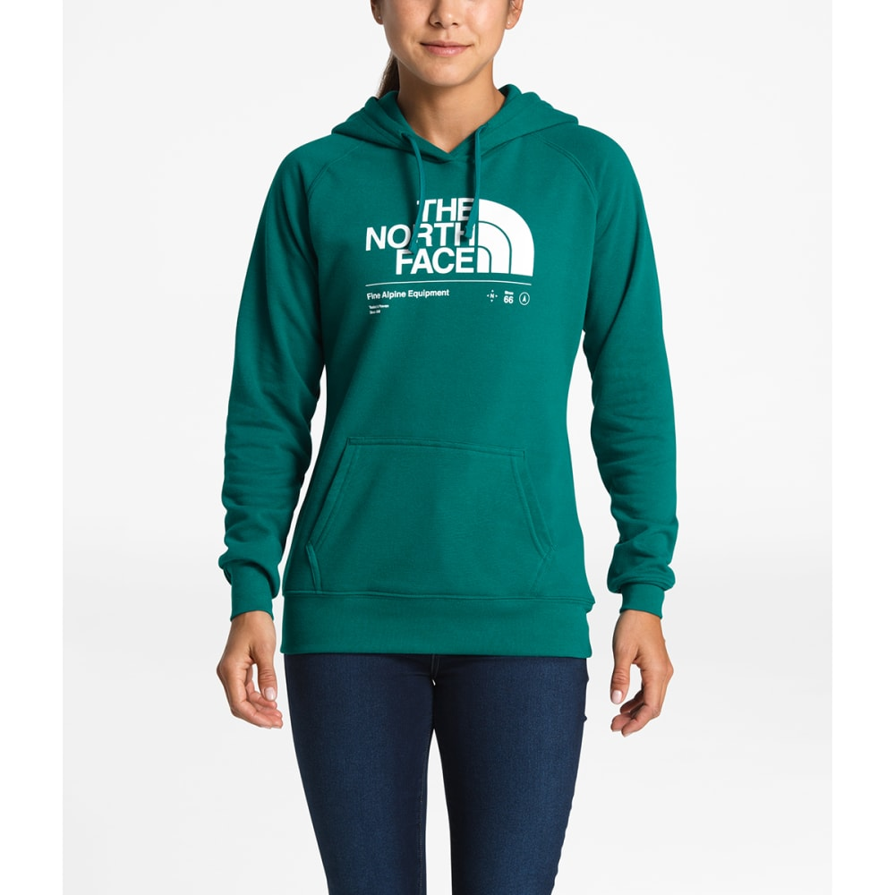 THE NORTH FACE Women's Half Dome Explore Pullover Hoodie - 3YD-EVERGLADE