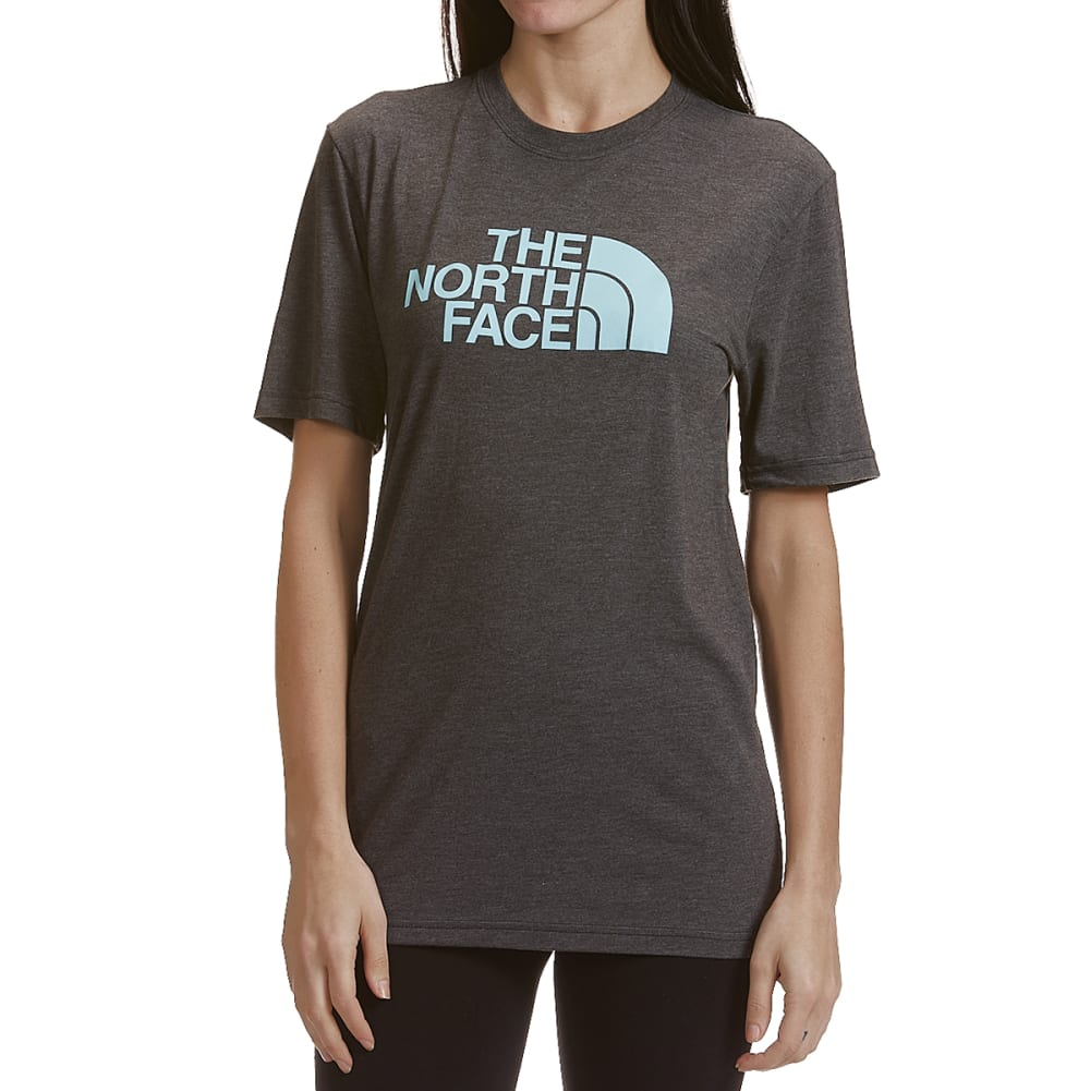 THE NORTH FACE Women's Short-Sleeve Half Dome Triblend Tee S