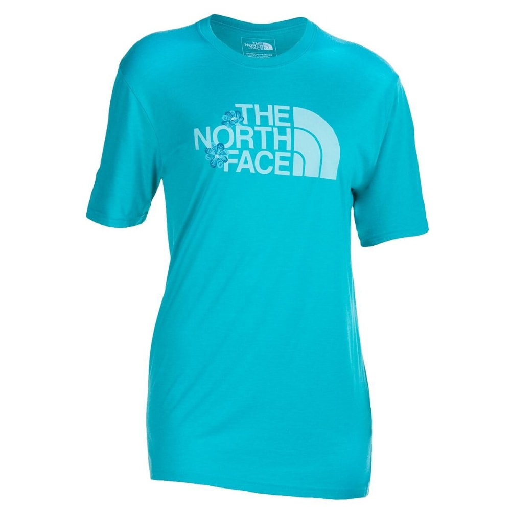 THE NORTH FACE Women's Short-Sleeve Half Dome Triblend Tee - A7Z-ION BLU HTR