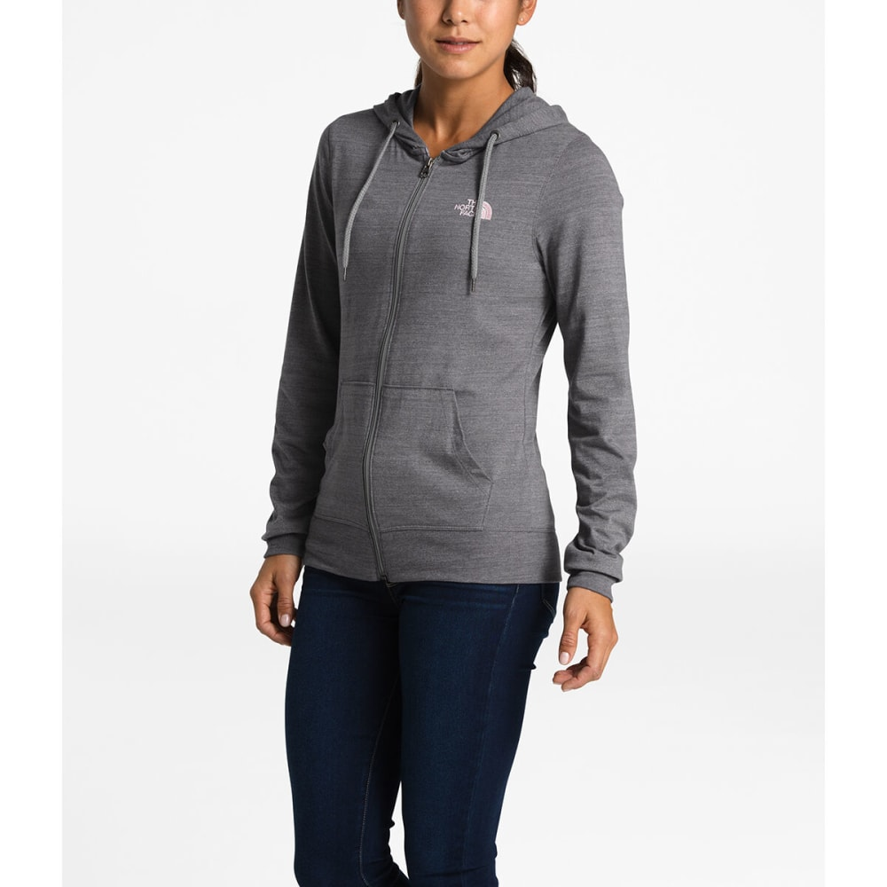 THE NORTH FACE Full Zip Tri-Blend Pullover Hoodie - AG3-TNFMDGHR/PNKSLT