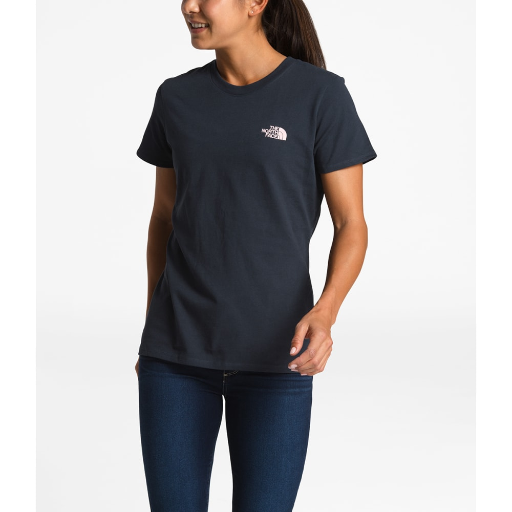 THE NORTH FACE Women's Heavyweight Redbox Tee - BC5-URBNV/PKSLTMSCP