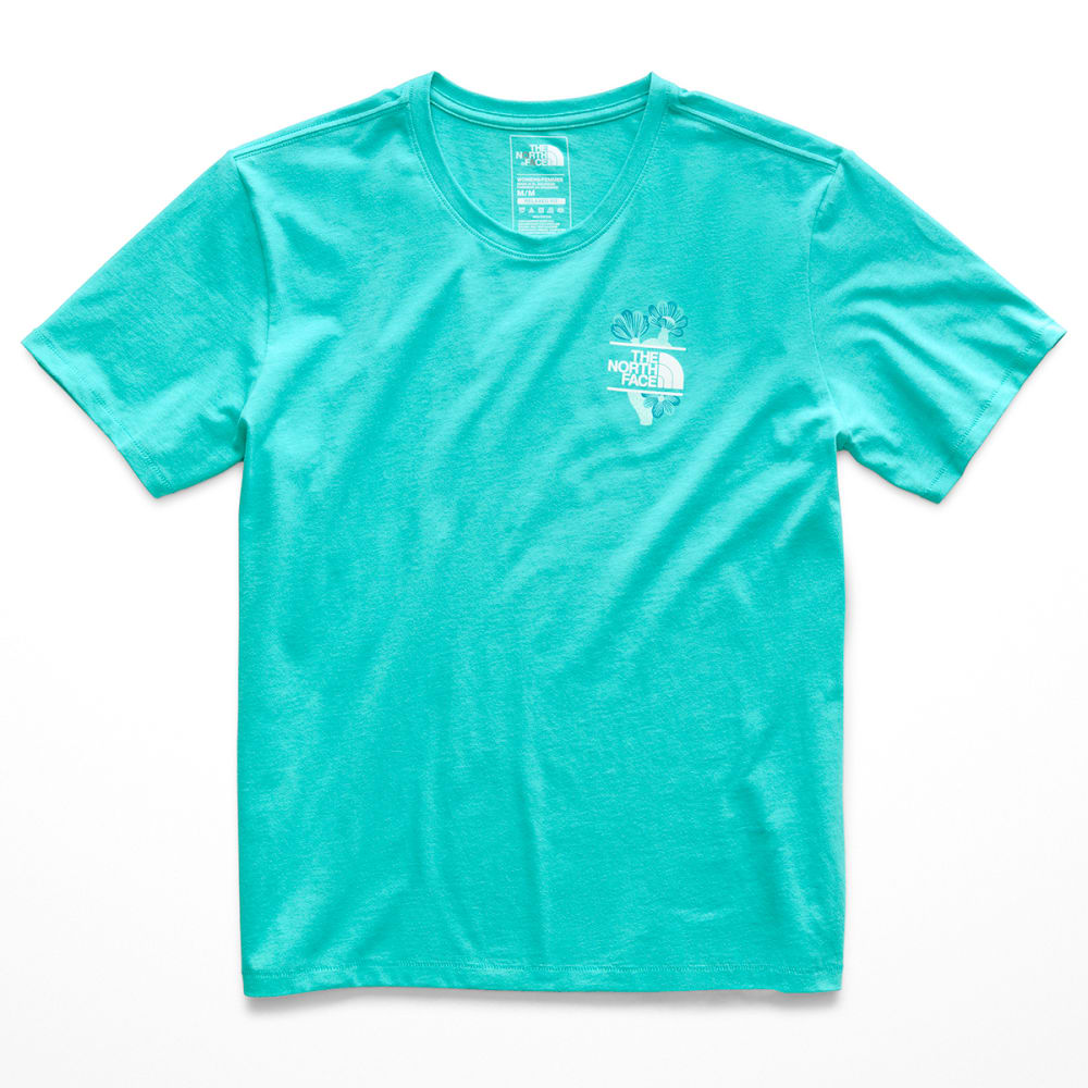 THE NORTH FACE Women's Boxy Floral Short-Sleeve Tee - JG8-NF0A3KDZ