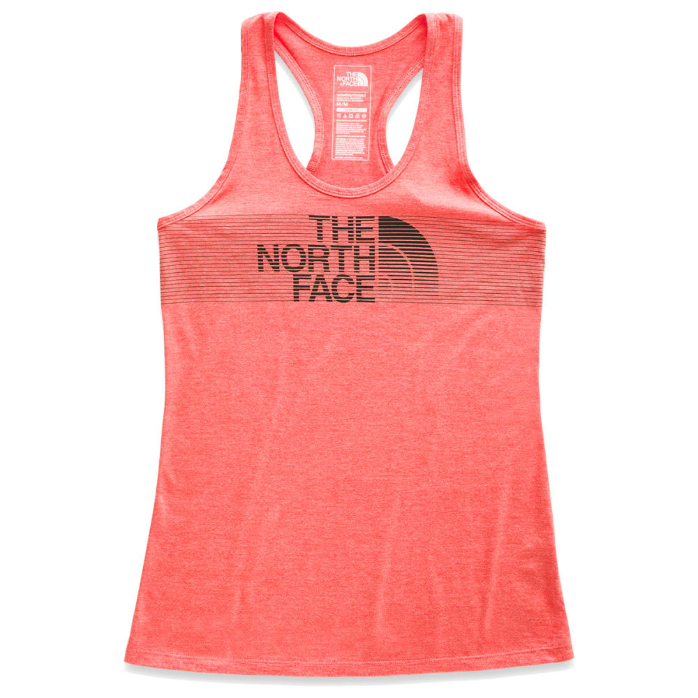 THE NORTH FACE Women's Tri-Blend Tank Top - HSW-SPICED CORAL