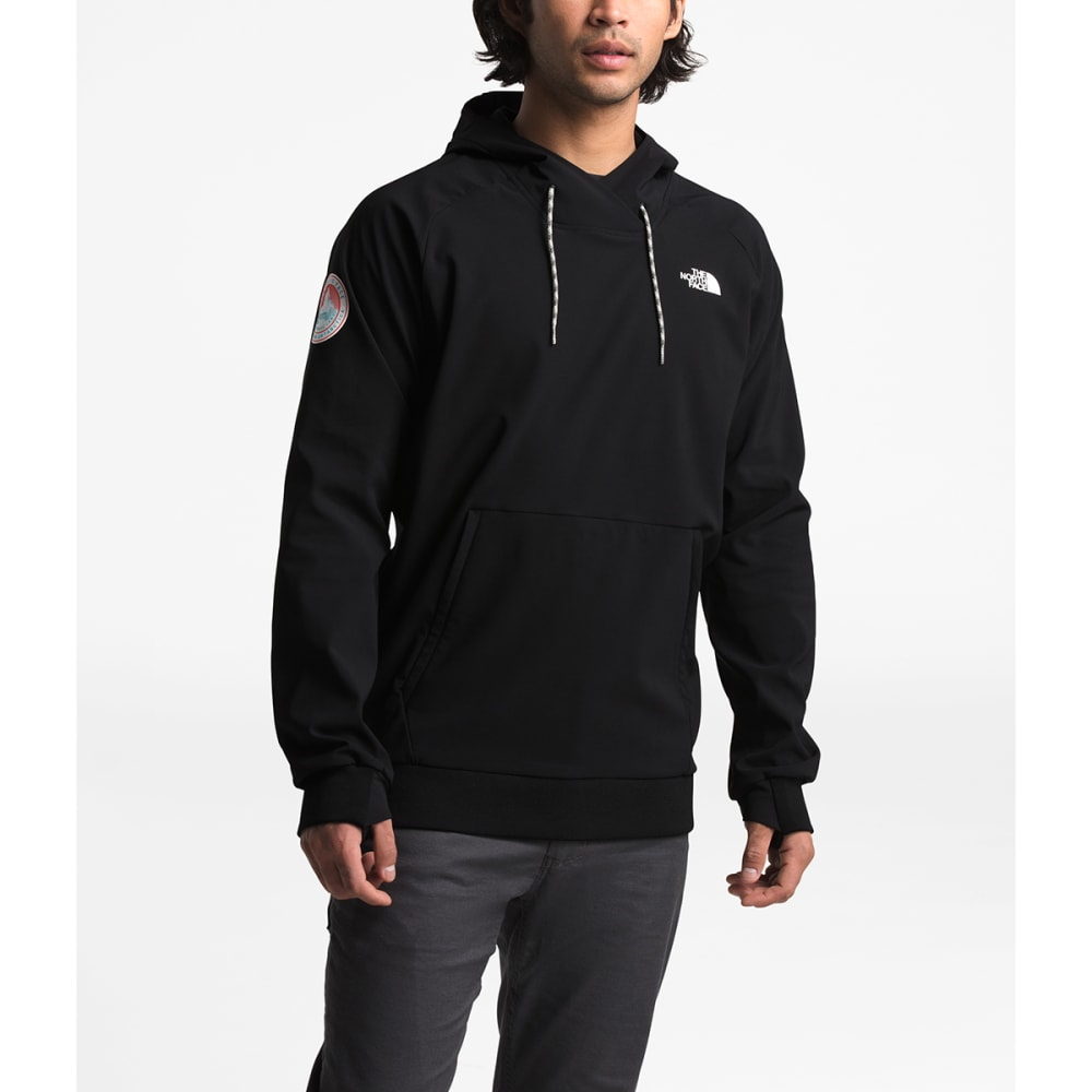 THE NORTH FACE Men's Tekno Logo Antarctica Hooded Pullover - JK3-TNF BLK