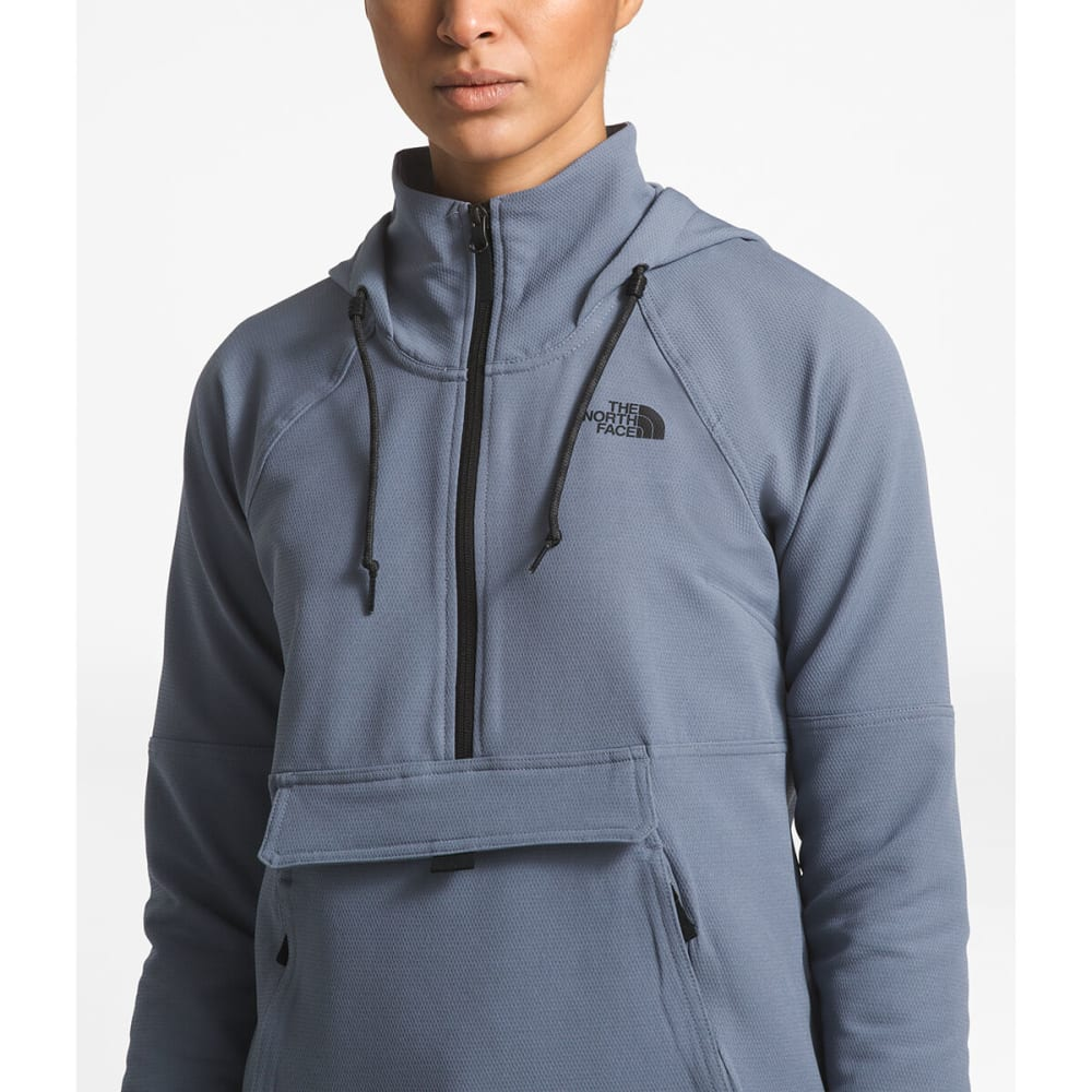 THE NORTH FACE Women's Tekno Ridge Pullover Hoodie - 7BK-GRSLLGY
