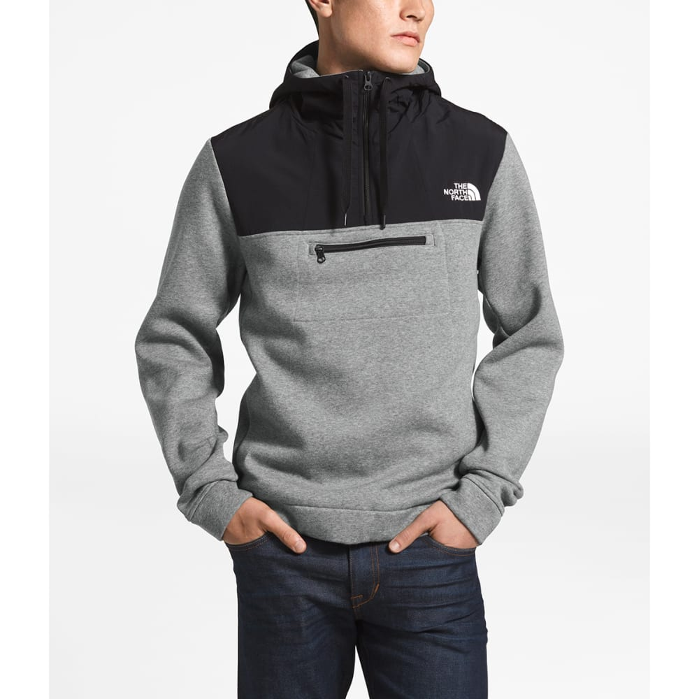 THE NORTH FACE Men's Rivington Pullover Jacket - DYY-TNFMEDGRY
