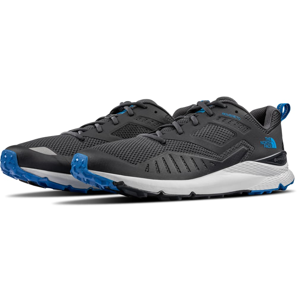 THE NORTH FACE Men's Rovereto Trail Running Shoes - EBONY GREY
