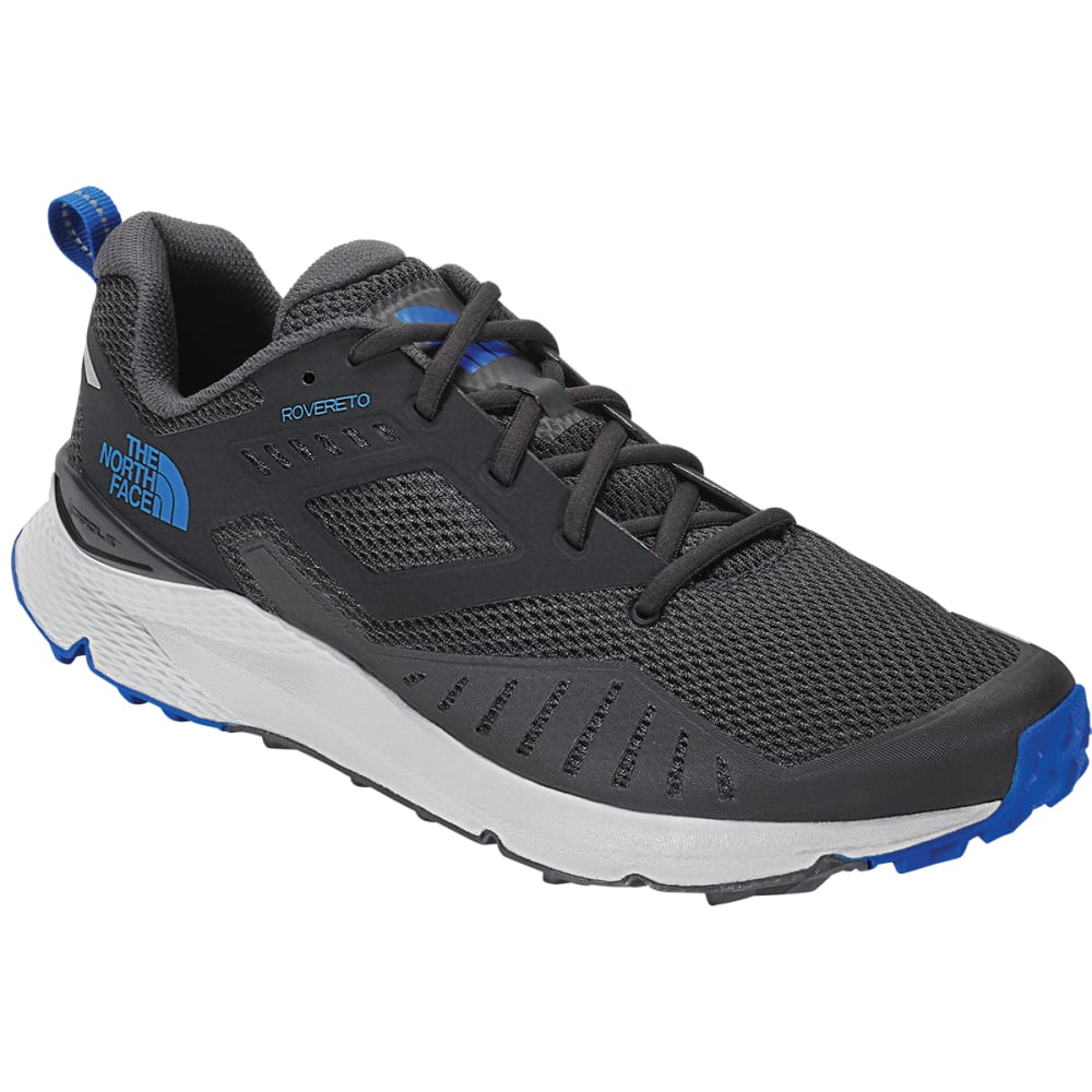 THE NORTH FACE Men's Rovereto Trail Running Shoes - EBONY GREY
