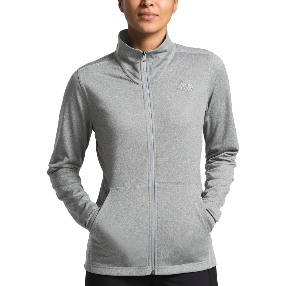THE NORTH FACE Women's Mezzaluna Full Zip Fleece - DYY-MEDGRY